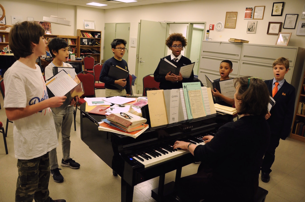Historic Episcopal men and boys choir keeps welcoming tradition alive while performing near and far