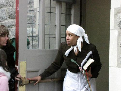 Harriet Tubman re-enactment