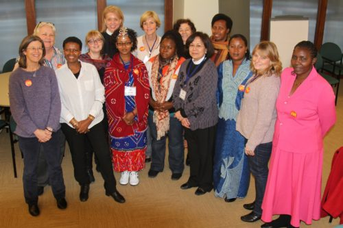 Participants following their three-day Indaba on violence against women and girls. Photo: ACNS