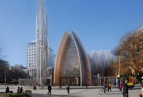 Christchurch Cathedral contemporary
