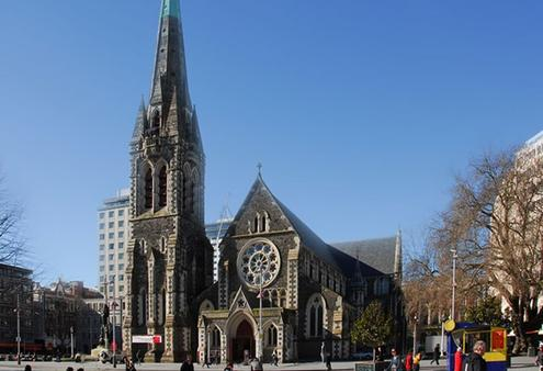 Christchurch Cathedral restored