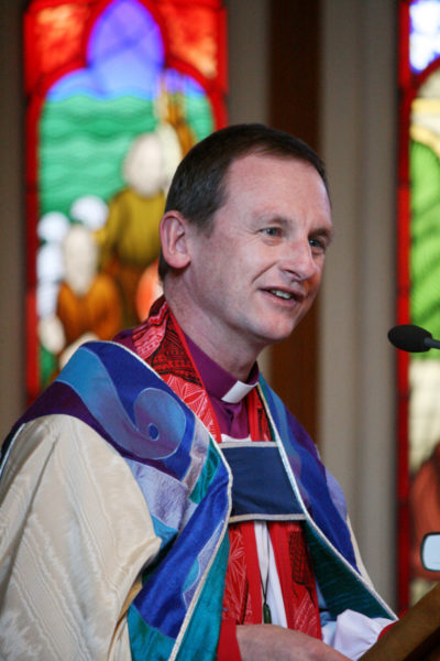 Diocese of Auckland Bishop Ross Bay faces a state discrimination charge for refusing to allow a gay, partnered man to enter the ordination process. Photo/Diocese of Auckland