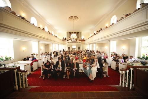 La iglesia episcopal de The Falls planea reunirse en su histórico edificio el 15 de mayo para instalar un nuevo rector y rendirle tributo a sus miembros y ministros del pasado, el presente y el futuro. Foto de la iglesia episcopal de The Falls.