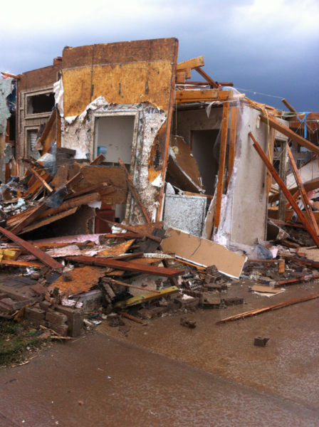 The Kiesperts home in Moore was destroyed by the May 20 tornado.