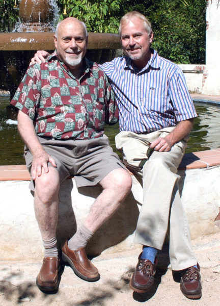 Malcolm Boyd and author Mark Thompson have been a couple for 30 years. Photo/Mary Glasspool