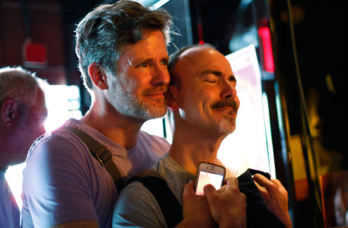 Patrons watch coverage of the U.S. Supreme Court ruling on the Defense of Marriage Act at the Stonewall Inn in New York June 26, 2013. The U.S. Supreme Court on Wednesday handed a significant victory to gay rights advocates by ruling that married gay men and women are eligible for federal benefits and paving the way for same-sex marriage in California. Photo: REUTERS/Brendan McDermid