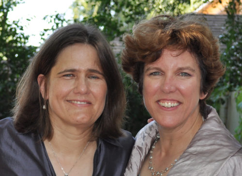"""Janice Reid (left) and Brenda Bos are looking forward to making their marriage """"legal"""" following the Supreme Court's June 26 rulings."""