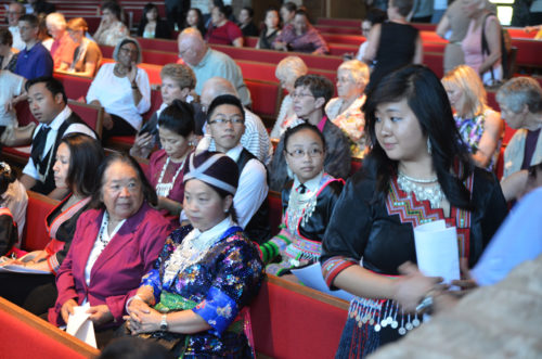 Members of Toua Vang's community wait for his ordination June 27. Photo: Diocese of Minnesota