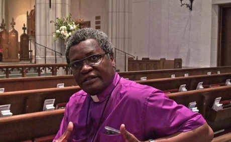 Bishop Tengatenga is to become Dean of the Tucker Foundation at Dartmouth College Photo: Diocese of Texas