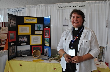 The Rev. Nancy Bruyere, a non-stipendiary priest from the Diocese of Keewatin, has been named suicide prevention coordinator for western Canada and the Arctic. Photo: Marites N. Sison/Anglican Journal
