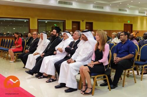 Muchos invitados distinguidos se encontraban entro los que asistieron a la ceremonia de apertura. Foto de Ginger Camel.
