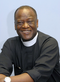 The Rev. John C. Thompson-Quartey is the rector of St. Mary's by the Sea in Point Pleasant Beach, New Jersey.