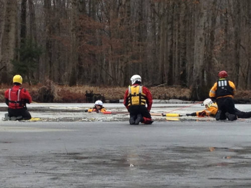 A massive search-and-rescue effort to find missing Wall Street Journal reporter David Bird has included searches in icy rivers and streams near his New Jersey home. Photo: Facebook/Long Hill Township Police Department