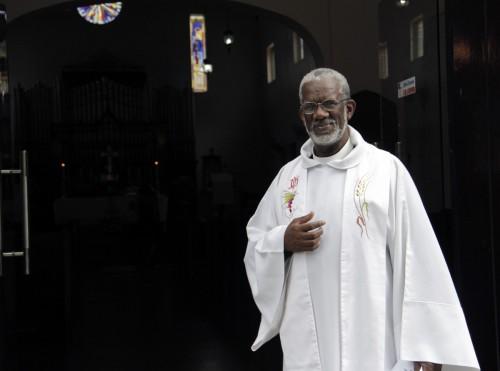 El Muy Rdo. Ashton Brooks es el decano de la Catedral de la Epifanía en Santo Domingo, en la diócesis de la República Dominicana y decano del Centro de Educación Teológica, en el seminario de la IX Provincia. Foto: Lynette Wilson / Episcopal News Service