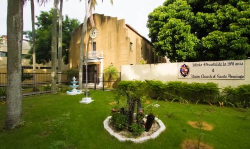 La Catedral de la Epifanía se encuentra en la sección de Gazcue de Santo Domingo. La presencia episcopal en Santo Domingo se remonta a 1918 Foto: Julius Ariail
