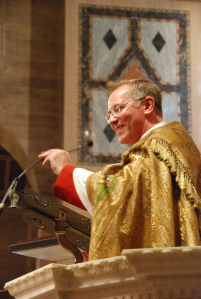 """The Very Rev. Mark Kowalewski calls St. John's Pro-Cathedral a """"house of prayer"""" for all people. Photo: Janet Kawamoto"""