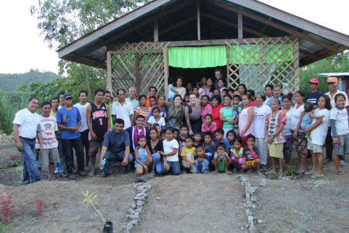 Following destruction caused by Tyhpoon Bopha in 2012, representatives from the Diocese of Davao provided relief to residents of a small mountain village. Those residents asked the diocese for spiritual support, as well, and Chapel of the Transfiguration, pictured here, was born. Photo: Emily Cherry