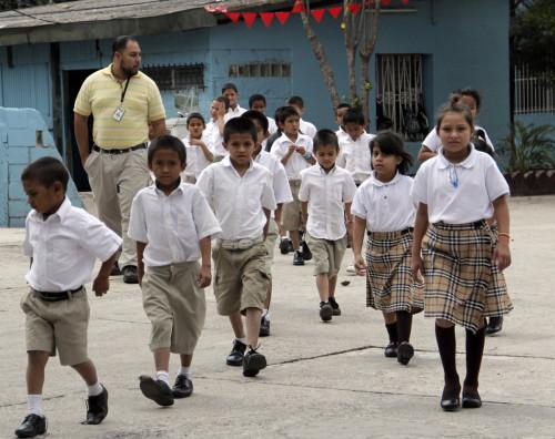El Hogar tiene la capacidad en su campus de Tegucigalpa para 100 estudiantes, proporcionándoles una educación, alimentación, vivienda, vestuario y un ambiente familiar. Foto: Lynette Wilson / ENS