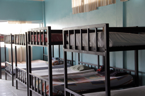 Los estudiantes de El Hogar viven en dormitorios. Foto: Lynette Wilson / ENS