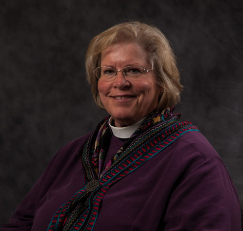 Diocese of Maryland Bishop Suffragan Heather Cook, who remains on administrative leave pending the outcome of an investigation into her involvement in a fatal accident, has been as by the diocesan standing committee to resign. Photo: Diocese of Maryland