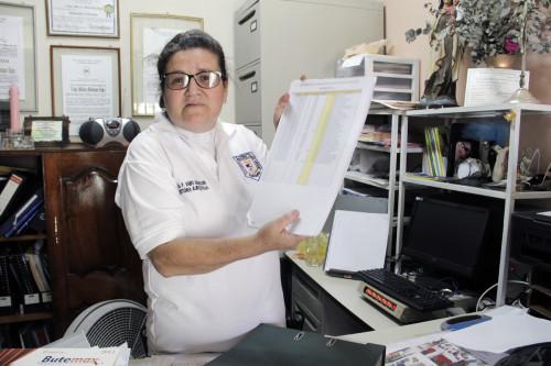 La Rda. Vaike Madisson de Molina, el vicario de San Bartolomé Apóstol en Siguatepeque, trabajo con el Ministerio de Salud para establecer una escuela de enfermería en su iglesia. Foto: Lynette Wilson/ENS