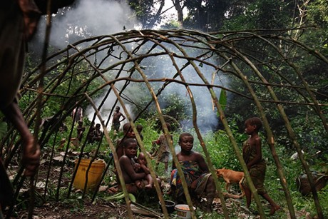 The Pygmy people's appearance and lifestyle means they have also been marginalized by much of society (2). Photo: Creative.org