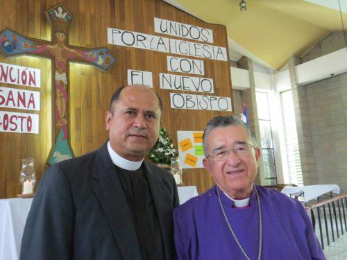 Juan David Alvarado, obispo electo de El Salvador, sustituirá al obispo Martin Barahona que se acogerá a la jubilación en enero de 2015. Foto de la Iglesia Anglicana Episcopal de El Salvador.