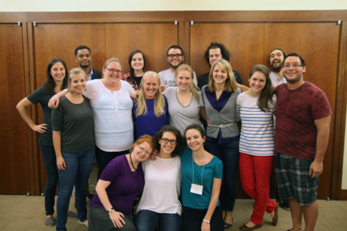 Sixteen Young Adult Service Corps missionaries spent Oct. 2-4 in New York for the Episcopal Church program's annual re-entry gathering. Photo: David Copley