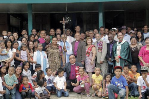 Obispos de la IX Provincia pasaron del 24 al 28 de septiembre en las Filipinas estudiando la trayectoria de la Iglesia hacia el autosostén en el contexto local. Foto de Lynette Wilson para ENS.