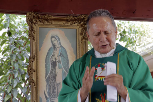 """The Rev. Tony Rojas, or """"Father Tony,"""" came to the Episcopal Farmworkers Ministry 18 years ago. Photo: Lynette Wilson/ENS"""