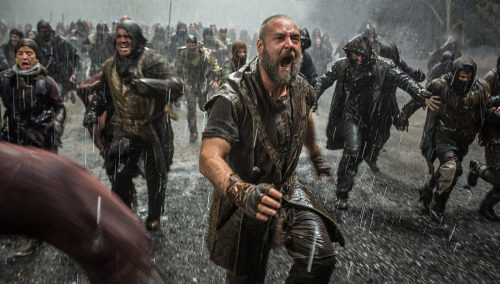 Russell Crowe es el protagonista de Noé [Noah], que se estrenó en marzo de 2014. Foto del cibersitio oficial de Noah.