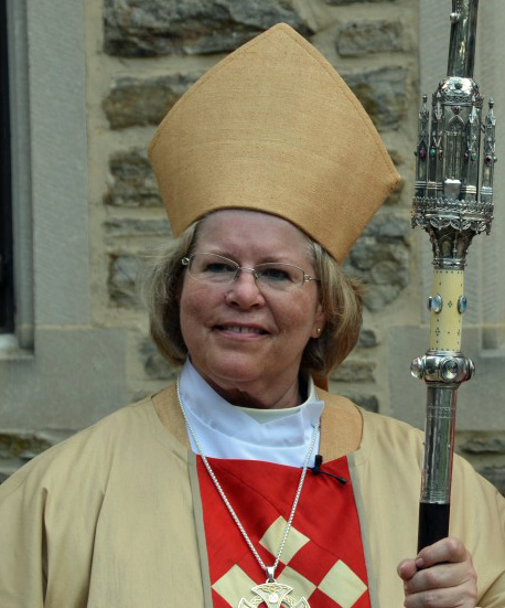 Diocese of Maryland Bishop Suffragan Heather Cook remains on administrative leave pending the outcome of an investigation into a fatal accident in which police say she was the driver. Photo: Richard Schori