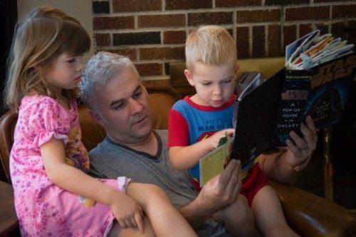Tom Palermo, de 41 años de edad, padre de Sadie, de 6 años, y de Sam, de 4 años, era ingeniero de informática en el Hospital Johns Hopkins y también fabricaba estructuras de bicicletas por encargo. Foto de la página de Bikemore en Facebook.