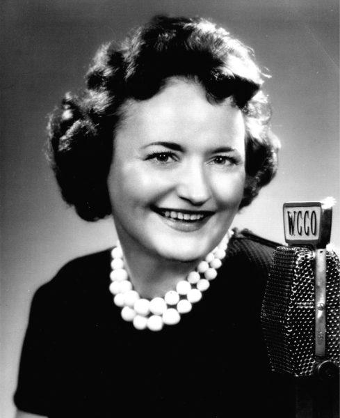 Joyce Lamont circa 1955. Photo: WCCO Radio