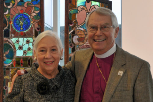 Patricia High was a full partner in ministry with her husband, Fort Worth Bishop Rayford High. Photo: Episcopal Diocese of Fort Worth