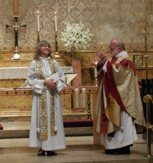 The Rev. Elizabeth G. Maxwell was installed on May13 as the 12th rector of The Church of the Ascension in New York City by the Rt. Rev. Andrew M.L. Dietsche, bishop of the Episcopal Diocese of New York.