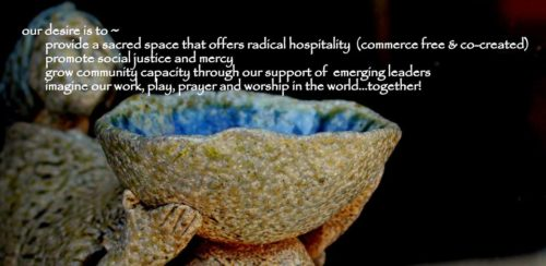 The banner on Kairos West Community Center's Facebook page summarizes the organization's goals. The Asheville, North Carolina, ministry is a one-year-old church-in-the-world initiative of the Cathedral of All Souls in Asheville and the Diocese of Western North Carolina. The ministry, based in a former fabric store on increasingly gentrified Hayward Road in West Asheville, received a Mission Enterprise Zone grant. Photo: Kairos West Community Center via Facebook