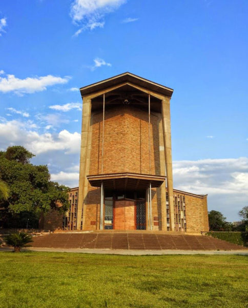 The Cathedral of the Holy Cross in Lusaka, Zambia, will host over 100 members of the Anglican Consultative Council for its 16th meeting next April. Photo: Lusaka Cathedral