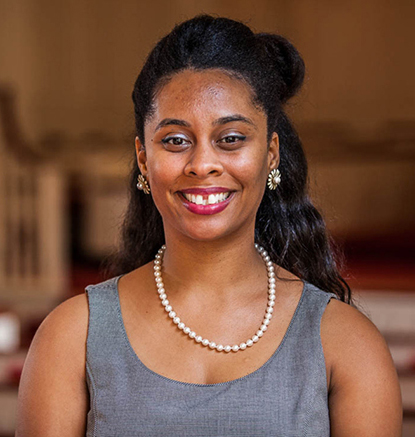 """""""We must tell the truth about ourselves,"""" Brite Divinity School theology professor Keri Day said, urging council to recognize that the Christian church has been complicit in the construction of American society. Photo: Brite Divinity School"""