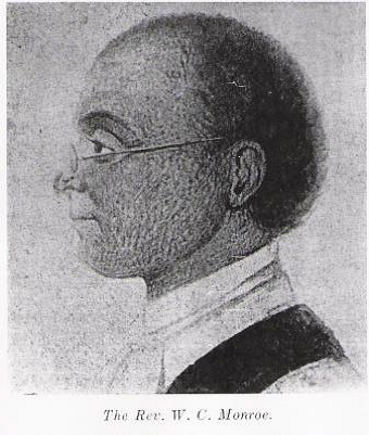 The Rev. William Monroe helped organize St. Matthew's as a mission congregation.
