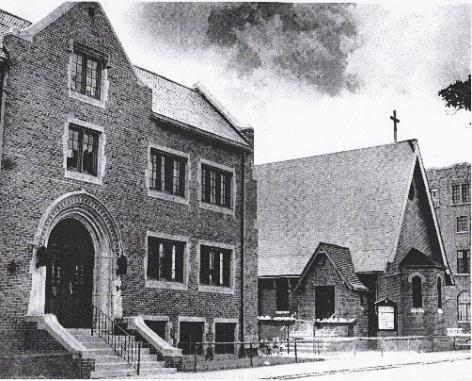 St Matthew's 1880-1971 photo taken taken circa 1945.
