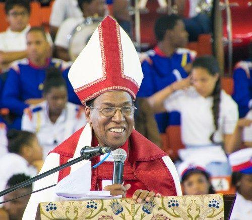 El Rvdmo. Moisés Quezada Mota fue instalado, el 13 de febrero en Santo Domingo, como obispo coadjutor de la Diócesis [episcopal] de la República Dominicana. Foto de Julius Ariail para la Diócesis de la República Dominicana.