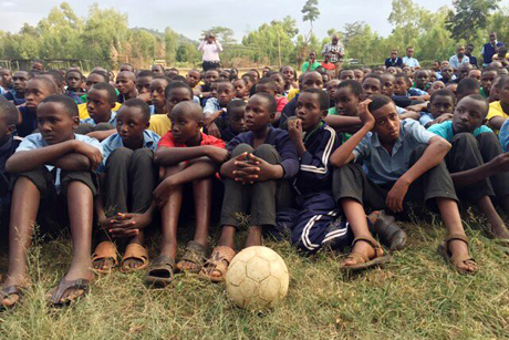 Football – a universal language across Africa. Photo: Anglican World