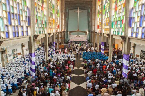 La inauguración local de la 16ª. Reunión del Consejo Consultivo Anglicano tuvo lugar el 29 de noviembre en la catedral de Lusaka y reunió a representantes de todas las diócesis de la Provincia de África Central (Botsuana, Zimbabue y Zambia). La reunión comienza el 8 de abril y se extiende hasta el 19. Foto de la Oficina de la Comunión Anglicana.