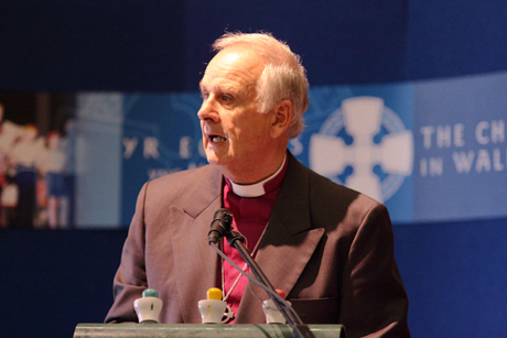 Archbishop of Wales Barry Morgan. Photo:  Church in Wales