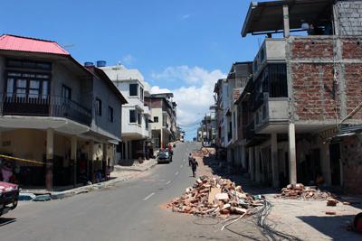 : Imagen del centro de Manta,la segunda ciudad más pobladadela provincia de Manabí. Foto: Edgar Giraldo/ La DiócesisdeEcuador Litoral