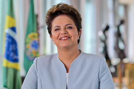 Brazil's President Dilma Rousseff has the support of the country's Anglicans as she faces impeachment proceedings Photo: Roberto Stuckert Filho