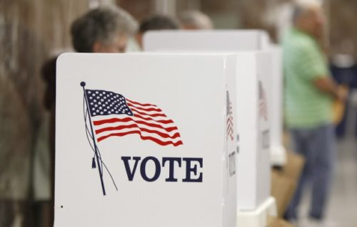 Voting is only one way that Episcopalians can be involved in the electoral process. Photo: everylibrary.org