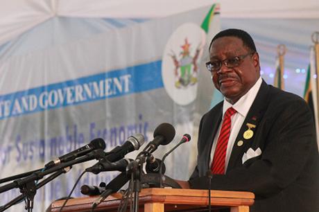 Malawi President Arthur Peter Mutharika Photo: Malawi Statehouse