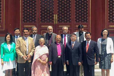 Members of the first Church of Pakistan delegation to China Photo: Church of Pakistan